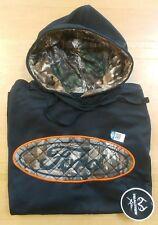 Men's XL Realtree Ford Hoodie sweatshirt Camo & Black New