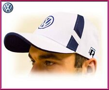 Volkswagen VW unisex Cap Mütze, Baumwolle Weiß. Einstellbare Größen mit R logo