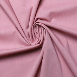 """Stretchy poplin fabric - Available in Red, dusty pink and off-white - 52"""" wide"""