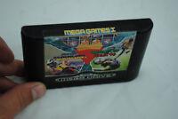 Jeu MEGA GAMES I : Columns, Super Hang On & World Cup pour Sega MEGA DRIVE (MD)
