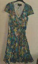 Lovely Quality Long Silk Dress Size 10 By Fenn Wright Manson (NWT £179)