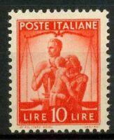 Italia Repubblica 1945 Sass. 559 Nuovo ** 100% Democratica
