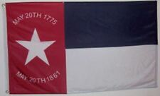 3x5 ft NORTH CAROLINA REPUBLIC CIVIL WAR FLAG May 20 1861 Print Polyester