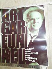 "Art Garfunkel Original Theater Poster Feb. 2009  30"" x 24"""