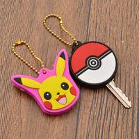 Pokemon Pikachu Poke Ball Key Cap Key Cover Key Holder Accessories Anime Gifts