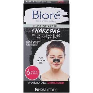 Bioré Charcoal Deep Cleansing Pore Strips