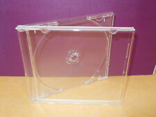 10  CD CLEAR CASE AND CLEAR TRAY