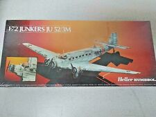 Heller Humbrol 1/72 Junkers Ju-52/3M New sealed model airplane