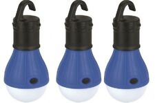 3 x  3 LED Camping Tent Awning Garden Light  / Lamp (choice 4 Colours)