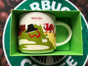 Starbucks Wales YAH you are here 14fl oz mug
