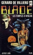 Blade n° 13.Les temples d'Ayocan.Science Fiction  SF15A