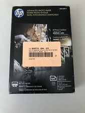 """NEW hp Advanced Photo Paper 4"""" x 6"""" Glossy - Works with All Inkjet Printers"""