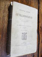 Journal intime de Cuvillier-Fleury