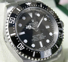 Rolex SEA-DWELLER Deepsea 116660 Mens Stainless Steel Oyster Black Ceramic 44MM