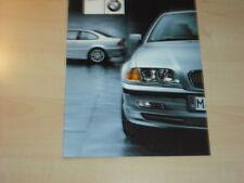 22581) BMW 3er E46 Polen Prospekt 2000