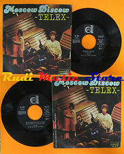 LP 45 7'' TELEX Moscow discow Rock around the clock 1979 italy DURIUM cd mc *dvd