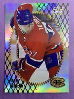 1996-97 Pinnacle Summit Premium Stock #90 Pierre Turgeon Montreal Canadiens
