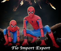 Spiderman Costume Carnevale Simil Homecoming Bimbo Uomo Cosplay Costume SPM012