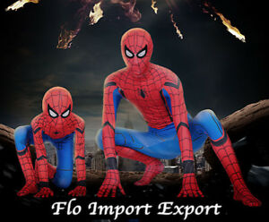 Spiderman Costume Carnevale Simil Homecoming Bimbo Uomo Cosplay Costume SPM012