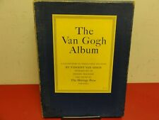 The Heritage Press Van Gogh Album a Collection of Pictures  1949