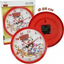 Horloge Pendule Murale Enfants Disney MICKEY - Livraison Gratuite !