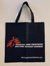 "New! Doctors Without Borders TOTE/SHOPPING BAG•Lightweight Packable •15""x 15"""