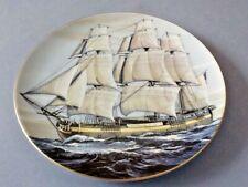 Rosenthal Group/ Danbury Mint 'The Alfred' Sailing Ship Porcelain Plate No Coa