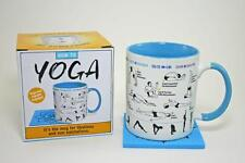 "Unemployed Philosopher's Guild ""How To"" Mug - How To: YOGA Mug & Mat Coaster"