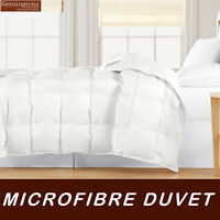 Luxury Microfibre Feels like Down Duvet Quilt Hotel Quality All Sizes & All Tog
