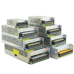 AC 110-220V TO DC12V 24V 48V 10W~1000W Transformer Regulated Power Supply Driver