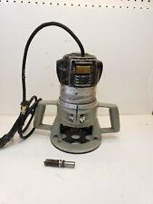 "Vintage Rockwell Porter Cable Production Router Fix Base 120v, 1/2"" Collet"