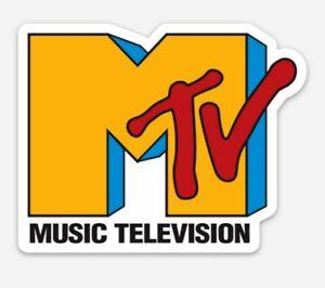 MTV Vinyl MAGNET - Vintage Music Television Logo