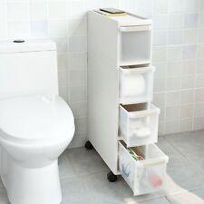 SoBuy® Chariot de rangement cuisine salle de bain,Étagère Armoires, FRG41-HG FR