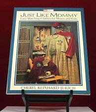 JUST LIKE MOMMY EASY MATCHING CLOTHES FOR MOMS AND KIDS THAT YOU CAN MAKE
