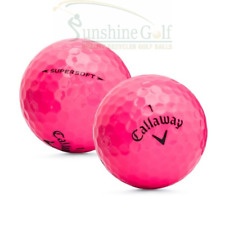 24 AAA Callaway Supersoft Pink Used Golf Balls (3A) - FREE SHIPPING