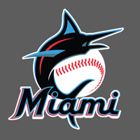 Miami Marlins Logo Sticker Vinyl Vehicle Laptop Decal