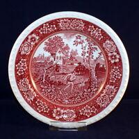 Villeroy & Boch Rusticana rot Suppenteller 23,5 cm sehr gut