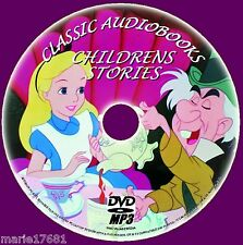 80 CLASSIC CHILDRENS STORIESTREASURE ISLAND PETER PAN MP3 AUDIOBOOKS PCDVD NEW