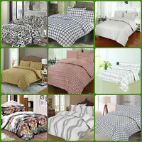 Duvet Cover With Pillowcases Quilt Cover Luxury Bedding Sets Double & King Size