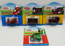 THOMAS THE TANK ENGINE : RHENEAS, TOBBY, CULDEE, GEORGE DIE CAST SET (DRMP)