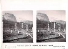 Stereoscope  View Camerascopic Sunbeam Tours - Canada Columbia / Alberta
