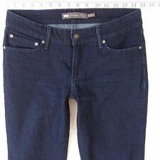 Ladies Womens Levis DEMI CURVE SKINNY Stretch Blue Jeans W29 L30 UK Size 10