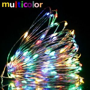 LED Fairy String Lights USB Outdoor Party Beauty Waterproof Decorates Tactics