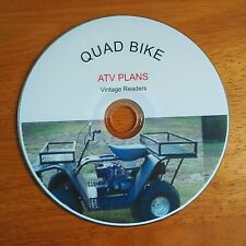 HOW TO MAKE BUILD YOUR OWN QUAD BIKE ATV HOVERCRAFT SNOWMOBILE  ROAD BUGGY #quad
