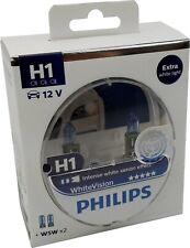 Philips h1 whitevision Xenon effect 2 unidades + 2x w5w