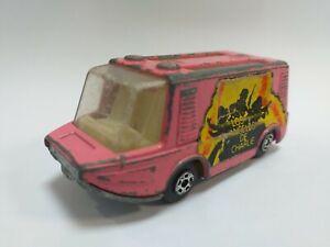 MIRA pink Stretcha Fetcha Charlie's Angels Spain Ed.of Matchbox 46 car very rare