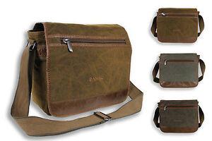 Mens Quality Canvas Casual Side Bag Shoulder Bag Messenger Bag Satchel Bag -5043