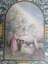 068 - Image - Enfant Jésus entouré d'Anges - Venite Adorémus - D.S.R.