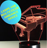 LAMPE PIANO - USB - ambiance -multicolor- chevet enfant - décoration -sans piles