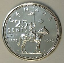 1973 Canada Proof-Like 25 Cents